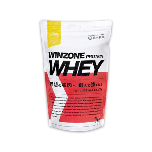 【Amazon.co.jp限定】WINZONE PROTEIN WHEY(ウィンゾーン プロテイン ホエイ)リッチバナナ風味