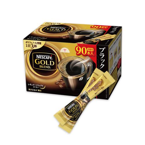 【Amazon.co.jp限定】ネスカフェ ゴールドブレンド スティック ブラック 90P