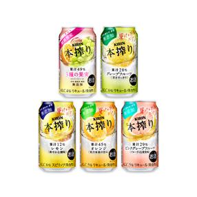 キリン 本搾り(TM) チューハイ 350ml缶〈3種の果実+定番4品〉