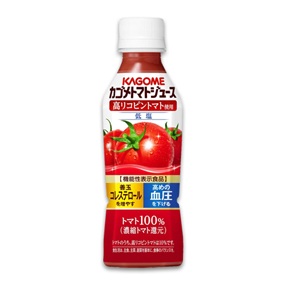 【ファミリーマート限定】カゴメトマトジュース 高リコピントマト使用 PET265g(女性限定)