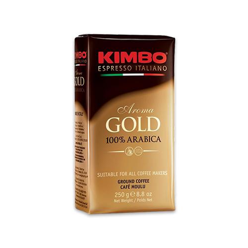 【成城石井限定】キンボ エスプレッソ粉(コーヒー粉)・ゴールド250g袋タイプ